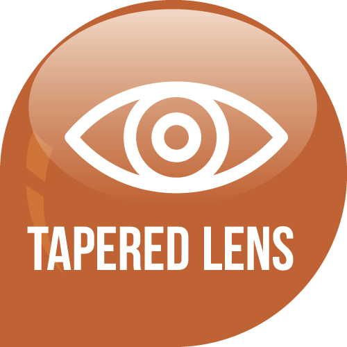 Tapered Lens Icon